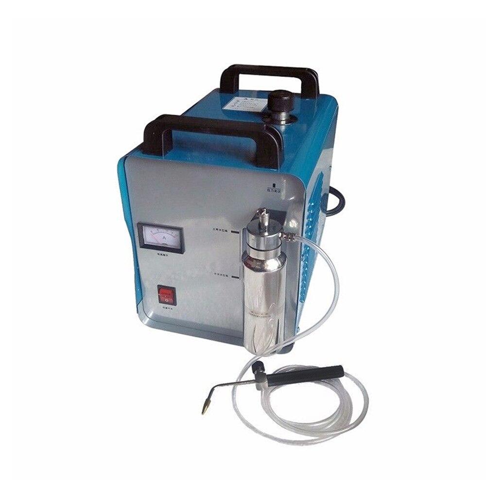 UE Stock H160 220 V 75L Oxygène Hydrogène de L'eau de Flamme Torche Polisseuse Acrylique Soudeur Machine