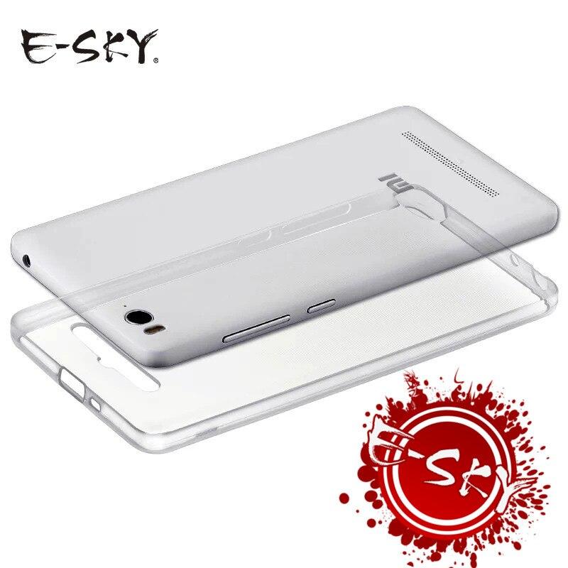 E-небо ультра тонкие мягкие ТПУ Телефонные чехлы для Xiaomi <font><b>4</b></font> 5 6 5x 6x 6 Plus прозрачный силиконовый чехол для MI5 mi6 чехол