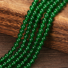 KANGKANG High Quality Natural Stone Green Round Loose Beads 15 Strand 4mm 6mm 8mm 10mm 12 mm For Jewelry  Bracelets  Wholesale high quality labradorite natural stone 4mm 6mm 8mm 10mm 12mm beautiful hot sale round loose beads jewelry 15 inch ge5002