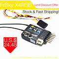 FrSky X4RSB 3/16ch 2.4 Ghz ACCST Receptor w/S. BUS, Puerto inteligente y telemetría