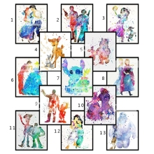 5D DIY Diamond painting Cartoon Full Square embroidery Cross stitch mosaic
