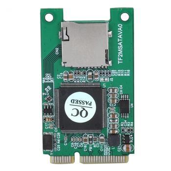 SP Micro SD TF Card to Mini PCI-E mSATA SSD Adapter Converter for PC hot sale , use in laptop for Lenovo