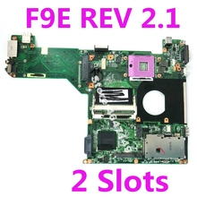 F9E HM65 2 Slots Mainboard 2.1 For ASUS F9E F9S Laptop motherboard F9E Mainboard F9E Motherboard 100% Tested OK