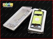 LED Фонарь Освещения Номерного Знака для bmw E46 4D (98-03) нет Ошибки OBC лицензия рама лампы 030106 GGG (FREESHIPPING)