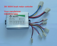 36V800W Electric Bicycle Brush Motor Controller Electric Scooter E Bike Brushed Speed Controller Free Shipping