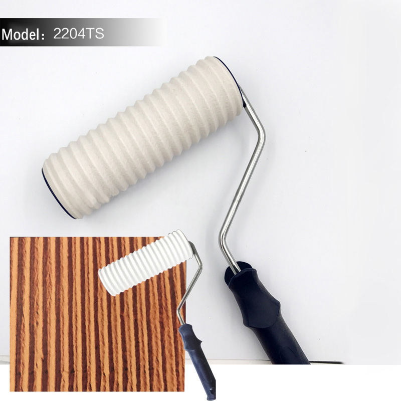 20*7cm Roller Paving Stone Hig Strength Environmental Protection Stamp Roller Polyurethane Paint Tool Sets