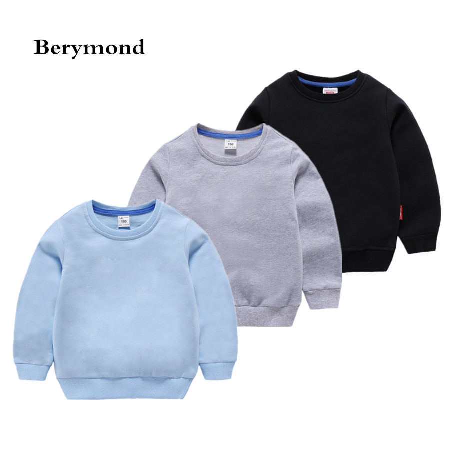 Autumn Spring Kids Outerwear Clothes Childrens Pullover Tops New Brand Quality Baby Boys Girls Roupas Kids Sweatshirts T-shirt