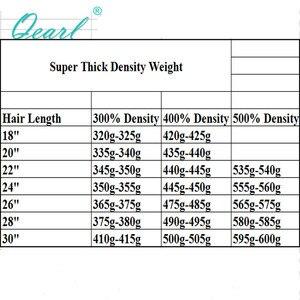 Image 5 - Echte Menschliche Haar Spitze Front Perücken 480 gramm Super Dicke Dichte 13x4 Brasilianische Wellig Remy Haar Perücke Pre gezupft Qearl