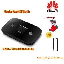 Odblokuj 300 Mbps HUAWEI E5786S-62A 3G 4G WiFi Routera Z 2 sztuk Cat6 anteny I 4G LTE Mobilny Internet + Bawełna Boże Narodzenie Kobiety skarpetki