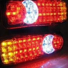 Castaleca 2 шт. 12 В/24 В грузовик Прицепы заднего света Водонепроницаемый 36 Светодиодные лампы Camper индикатор обратного Ван автомобиля Прицепы грузовик Фонарь