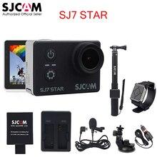 "Ursprüngliche SJCAM SJ7 Stern Wifi Ultra HD 4 Karat 2""Touch Bildschirm fernbedienung Ambarella A12S75 30 Mt Wasserdichte Sport Action Kamera Auto Mini DVR"