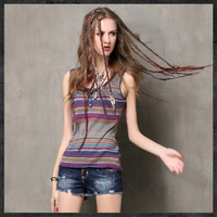 High Quality Summer Vintage Women Cotton Tank Top Women S Bodycon Cotton Vest Top Sleeveless O