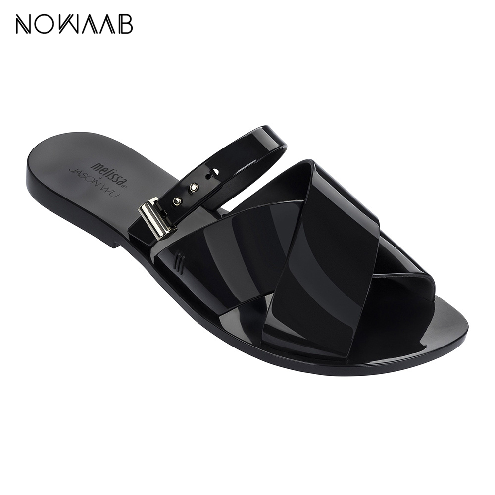 Melissa Diane Salinas 2019 Women Flat Sandals Brand Melissa Shoes For Women Jelly Sandals Female Jelly Shoes Melissa Diane Salinas 2019 Women Flat Sandals Brand Melissa Shoes For Women Jelly Sandals Female Jelly Shoes
