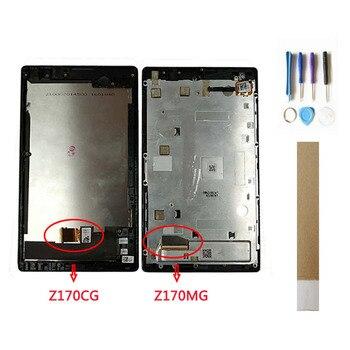 7 0 นิ้วสำหรับ ASUS ZenPad C Z170MG Z170CG P01Y P01Z จอ lcd Digitizer  Assembly