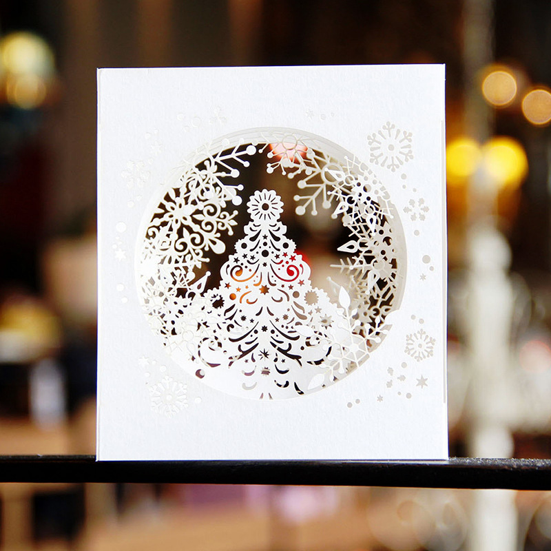 Easy Elegant Handmade Christmas Decorations: Aliexpress.com : Buy Christmas Cards 3d Diy Natal Postcard