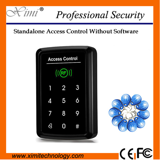 New Arrival (Free 10Pcs Rfid Key)Wiegand Input And Touch Keypad 1000 User Rfid Card Reader Single Access Control Reader кальсоны user кальсоны