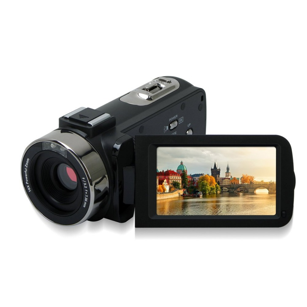 1080P HD digital video camcorder 2.7 inches TFT-LCD screen Hd Camera hot sale 16mp 4x zoom high definition digital video camera camcorder 2 4 inches tft lcd screen 8gb auto power off dropshipping