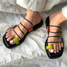 2019 Hot Summer Sandals Women Gladiator Sandal Flat Shoes Woman Casual Slippers Beach Flats Sandalias Rome Style Dropshipping