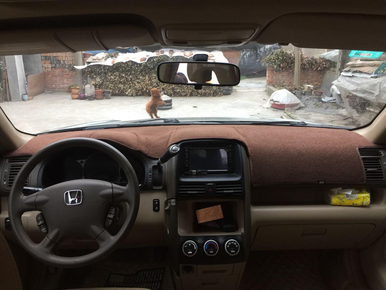 Dashmats voiture-styling accessoires couverture tableau de bord pour honda crv cr-v 20012002 2003 2004 2005 2006 2ème deuxième génération