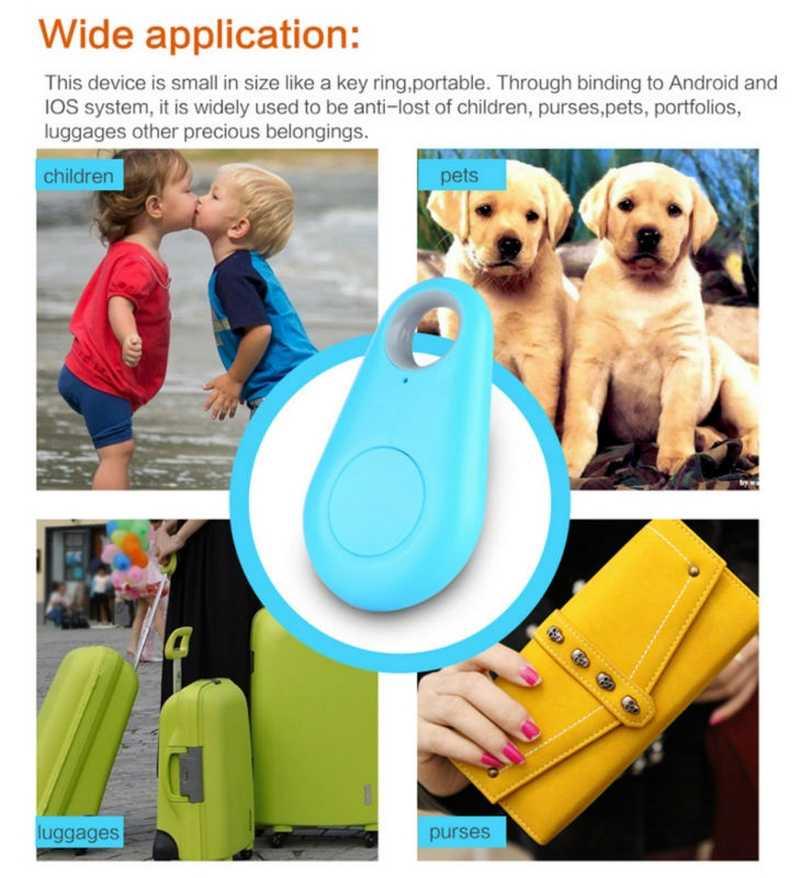 อัพเกรดไร้สายบลูทูธ 4.0 อุปกรณ์ติดตามAnti-Lost Anti-Theft Bluetooth Locatorสำหรับเด็กสัตว์เลี้ยงสุนัขรถรถจักรยานยนต์tracker
