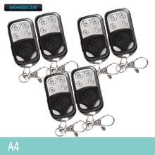 HOMSECUR A4 6Pcs New 433MHz RF Remote Control Keyfob For Our Home Alarm System