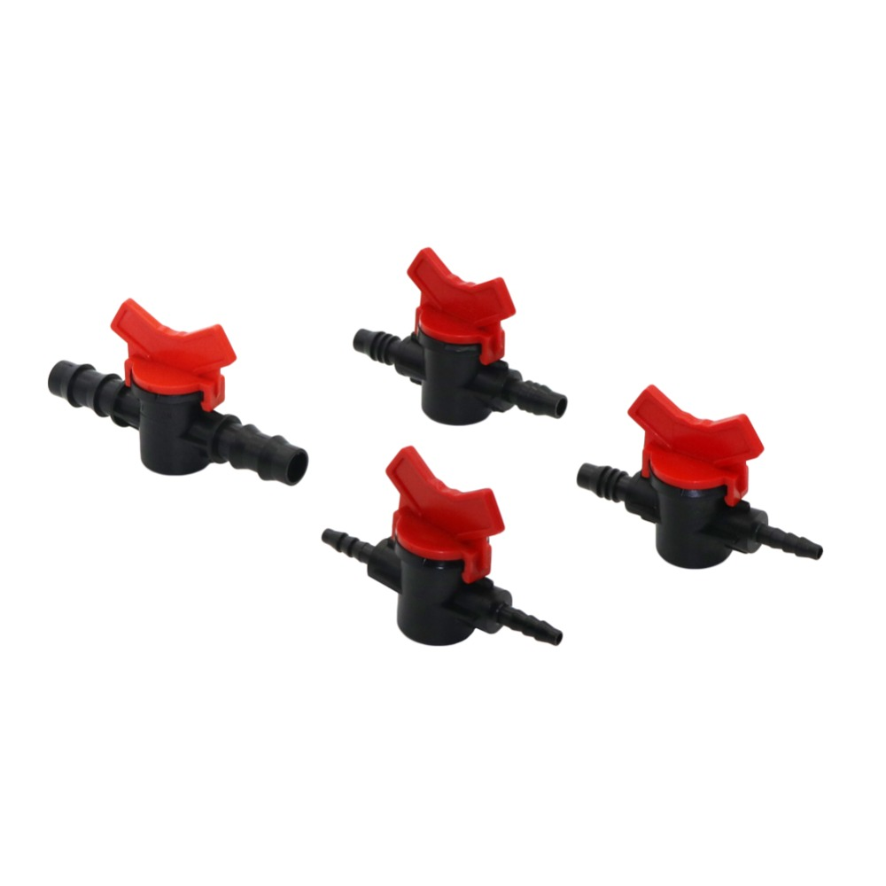 4, 8, 13.5 Mm Water Flow Control Valve Four Species Flow Regulator Water Pump Straight Valve DIY Flow Switch Stop Valve