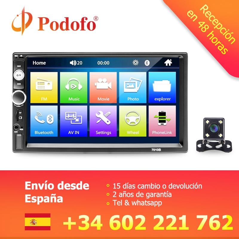 Aiyima 7 1 Din Auto Mp5 Player Bluetooth Multimedia Video Hände-freies Tf Auto Fm Mp4 Musik Player Hd Digital Display Mit Kamera Unterhaltungselektronik Tragbares Audio & Video