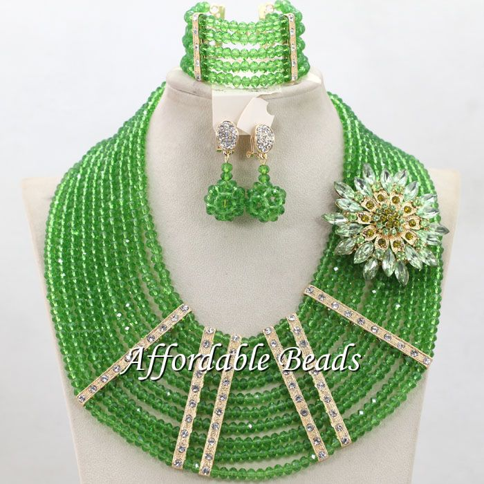 Marvelous Nigeria Beads Fashional African Wedding Set New Arrival ...