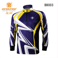 DINSUNGO Fishing Clothing Sunscreen Breathable Quick Drying Clothes Outdoors Stand Collar Long Sleeved High Quality