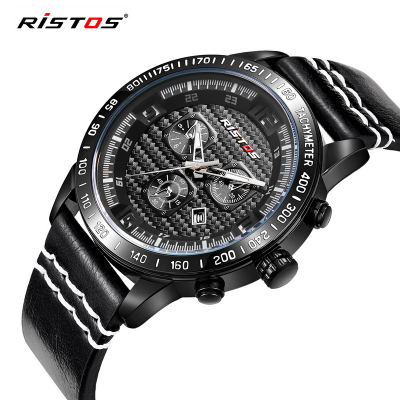 Men Military Army Fashion Watch Men's Casual Brand Sport Date Day Watches Quartz Waterproof Leather Strap Chronograph Hour Clock cadisen multifunction auto date military sport watches men waterproof leather quartz watch men army clock relogio mascul