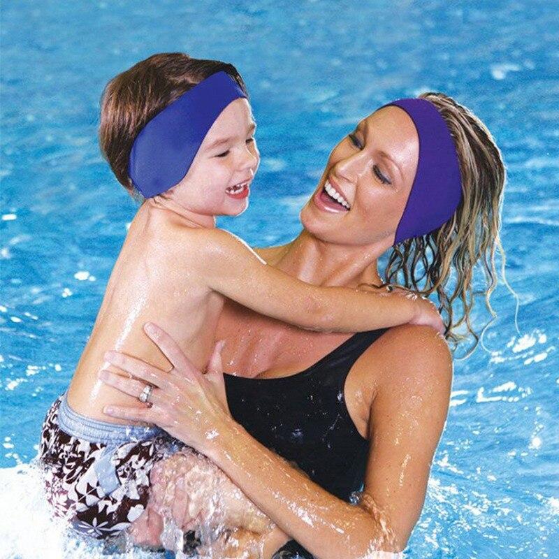 2019 Nuovo Unisex Adulto Di Nuoto Per Bambini Costume Da Bagno Impermeabile Dell'orecchio Della Fascia Dei Capelli Della Fascia Di Protezione Sport Nautici Della Fascia