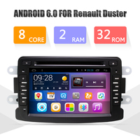 Octa Core 2G DDR3 RAM 32G ROM Android 6 0 Car Multimedia Player For Duster DVD