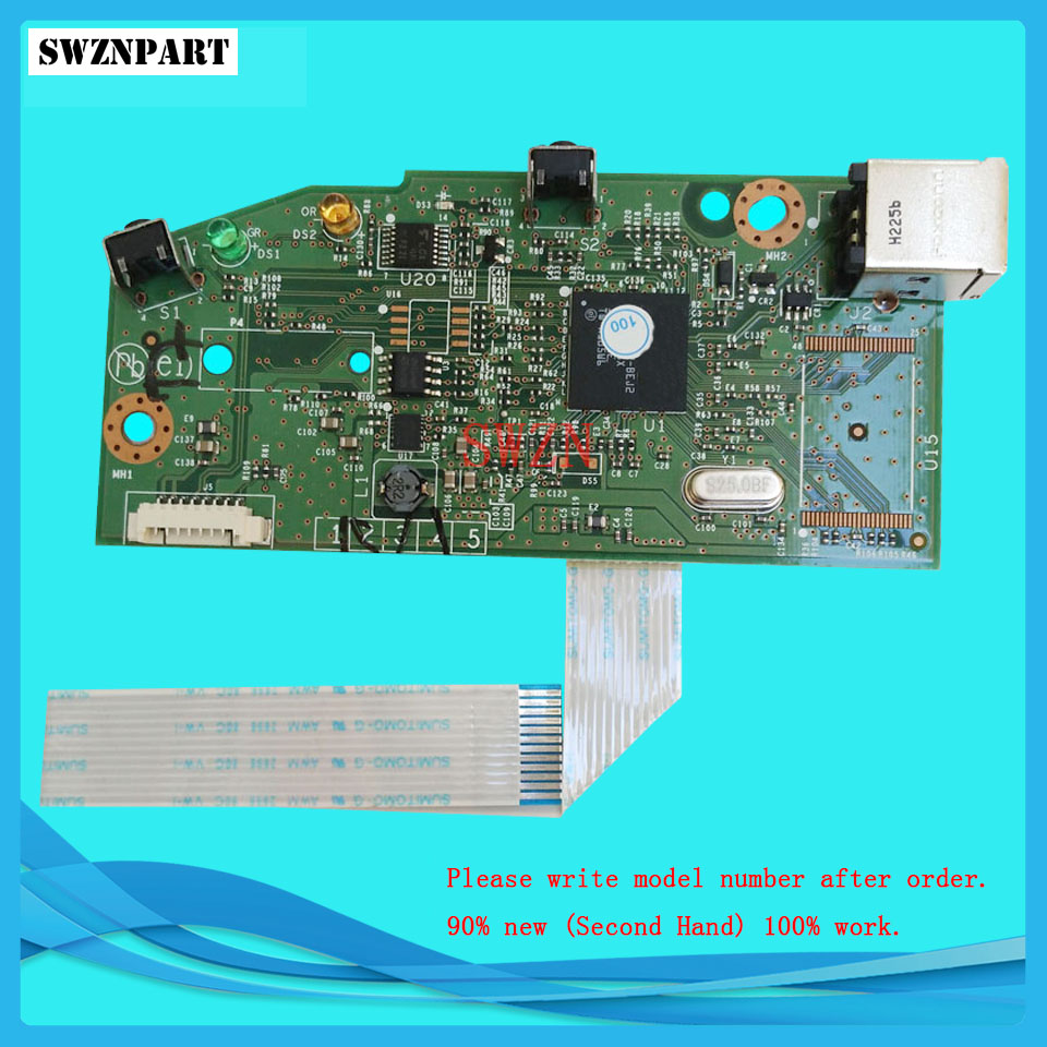 FORMATTER PCA ASSY Formatter Board logic Main Board MainBoard mother board for HP P1102W 1102W CF427-60001 Formatter Board 1102W wild style water transfer decal nail art decoration sticker