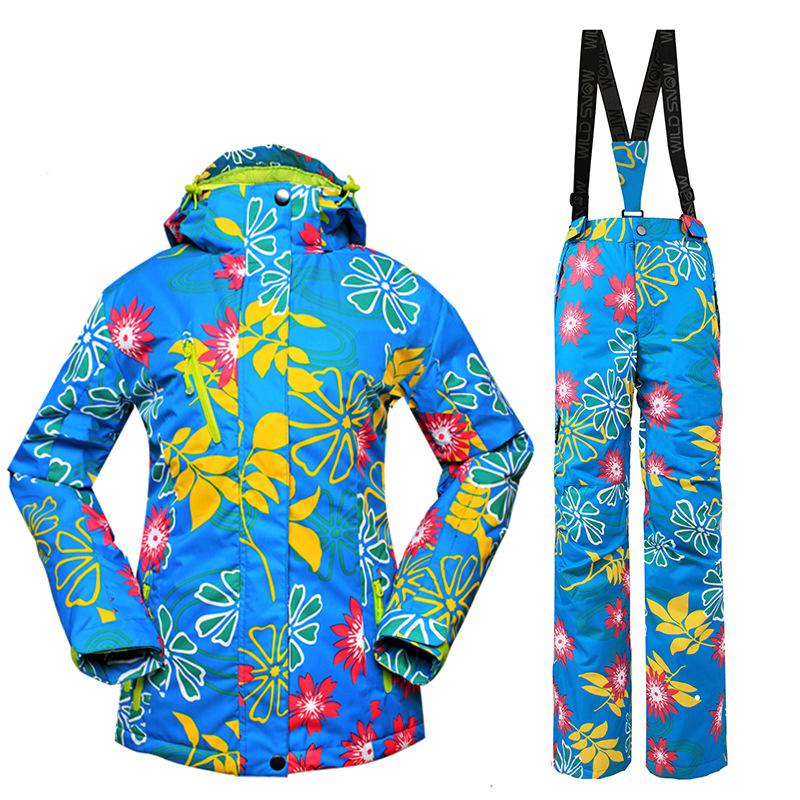Nouveau 2017 hiver Ski vestes femmes Ski manteau Snowboard veste Ski costume femmes neige porter veste S-2XL Ski veste femmes en plein air