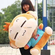 Fancytrader 39 ''/100 см гигантский плюшевый мягкий милый мультфильм обезьяна игрушка, милый подарок на день рождения, FT50006