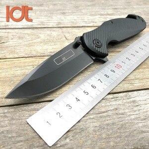 Складной нож LDT CM80 7Cr18Mov, с титановой ручкой, с покрытием, для кемпинга, охоты, выживания, карманный тактический нож, инструменты