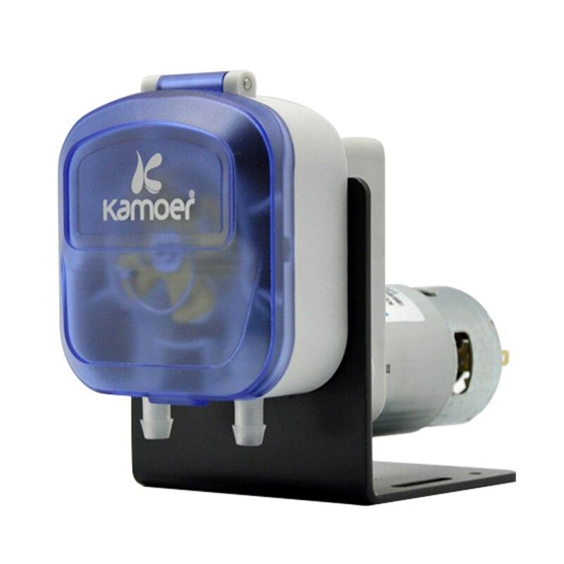 Kamoer KDS Peristaltic Pump (12V/24V/220V, Water Pump, Liquid Pump, 4 Colors, High Precision, Chemicals Resistance, High Flow) kamoer lab uip peristaltic pump high precision and intelligent water pump