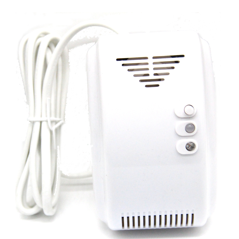 433MHz Kitchen Wireless Gas Leakage Detector Alarm Sensor  Emergency alarm for Home Security System GL-100A High Sensitivity wireless vibration break breakage glass sensor detector 433mhz for alarm system