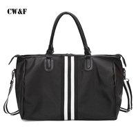 2017 new travel bag men and women portable large capacity shoulder bag luggage bag boarding bag diagonal package