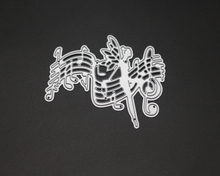 Music Dance Metal Cutting Dies Stencils for DIY Scrapbooking/photo album Decorative Embossing DIY Paper Cards губерман и гарики миниатюрное издание