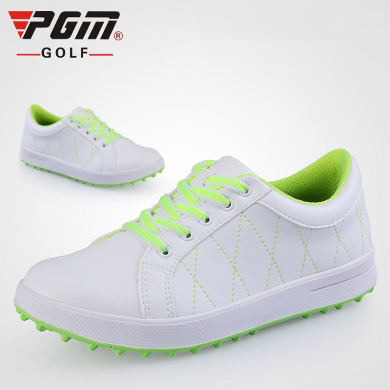2019 PGM New Womens Golf Shoes ultra light Soft Golf Sneakers Woman Waterproof Sport shoes non