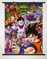 Home Decor Anime Dragon Ball Son Goku Wall Scroll Poster Fabric Painting 003