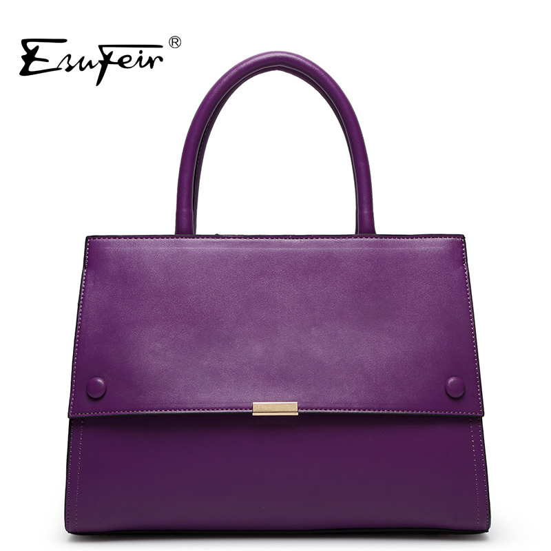ESUFEIR 2018 Women Fashion Handbag Famous Brand PU Leather Shoulder Bag Luxury Casual Tote Women Bag Ladies Bag Bolsa feminina large eva silicone tote bag 2017 luxury women shoulder bags fashion women bag brand handbag bolsa feminina for obag material