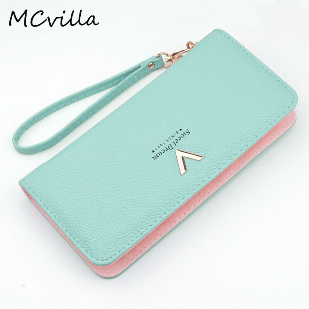 New Ladies Purses Female Leather Wallets Women Long Zipper Purse Woman Wallet Card Holder Clutch femme High Quality Brand кроссовки reebok gl6000 m41775