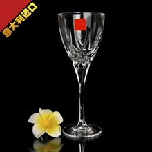 Imported from Italy Red wine glass crystal home set cup goblet