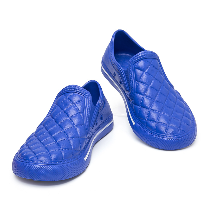 Chaussures Slipony Douce pourpre Homme Drôle 2018 Intérieur Mocassins Eva Sol Plage Air Maison Et Belle Lumière En D'été bleu blanc Hommes Plein Pantoufles Noir aTXwa