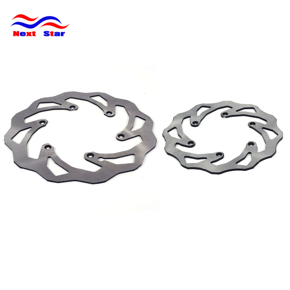 Front And Rear Brake Rotor Assembly For KTM EXC EXCF SX SXS SXF XC XCW XCF XCFW 380 300 350 SXC LC4 Cross-Country Motorcycle motorcycle front rider seat leather cover for ktm 125 200 390 duke