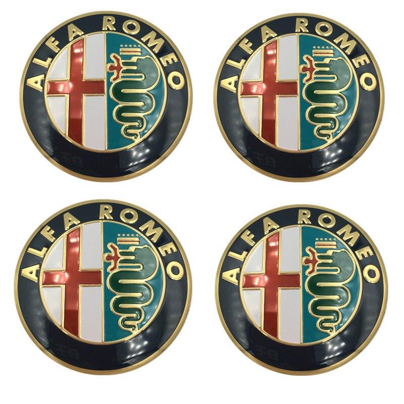 1 шт. 40 мм рулевое колесо эмблемы наклейки, автоаксессуары враг Alfa Romeo Brera 147 156 166 159 GT паук Giulietta Stelvio