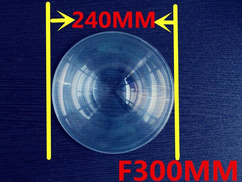 Fresnel lens Diameter 240 mm  Focal length 300mm Round  Fresnel Lens   thickness 2mm circle lens for DIY Free shipping  цены