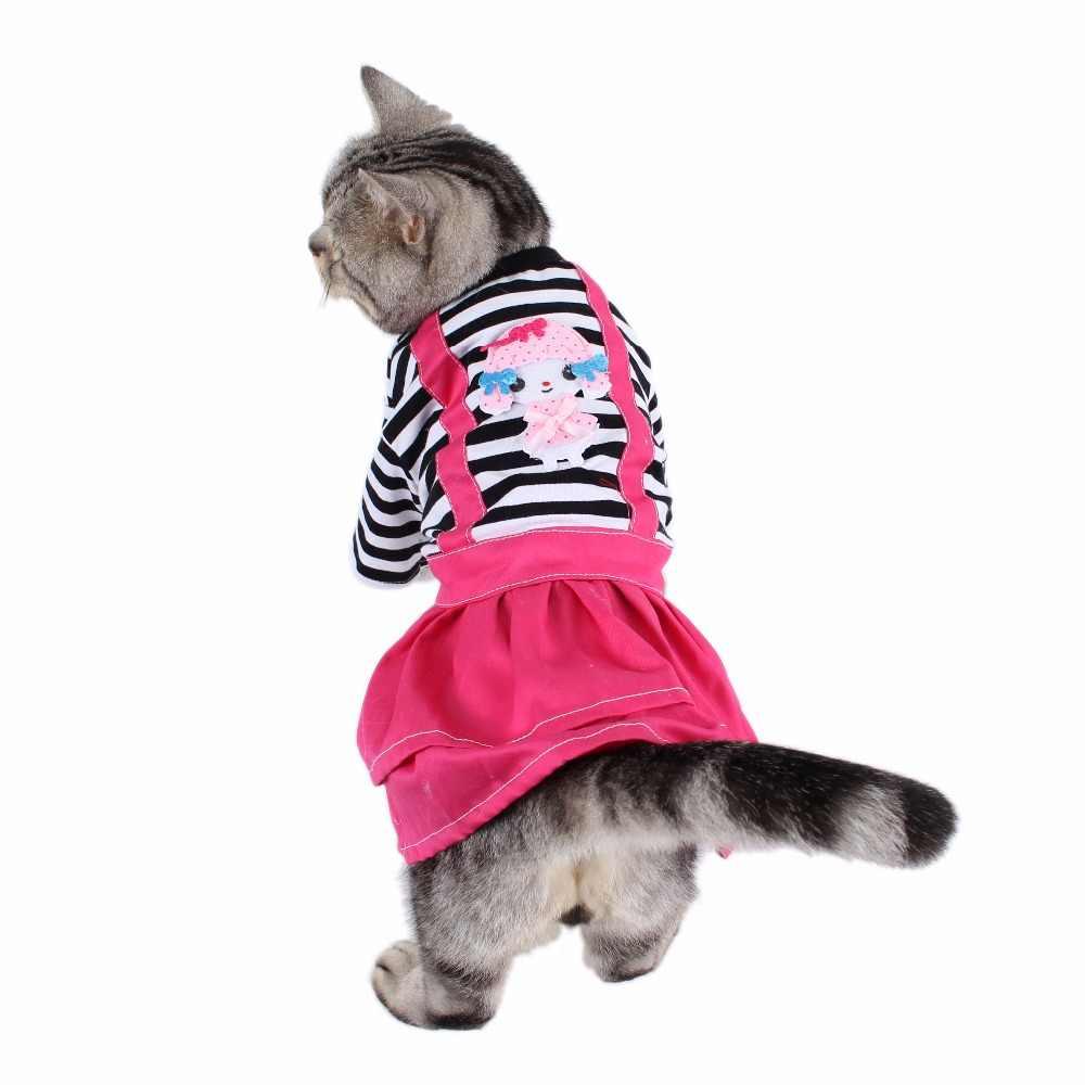 Gatti di piccola Taglia Vestiti di Abiti di Stoffa Prodotti di Abbigliamento Per Animali Domestici Vestiti Cani Cappotto Costume Gatto Accessori kedi giysileri ropa gato